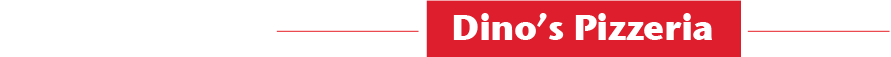 Dino's Pizzeria Logo